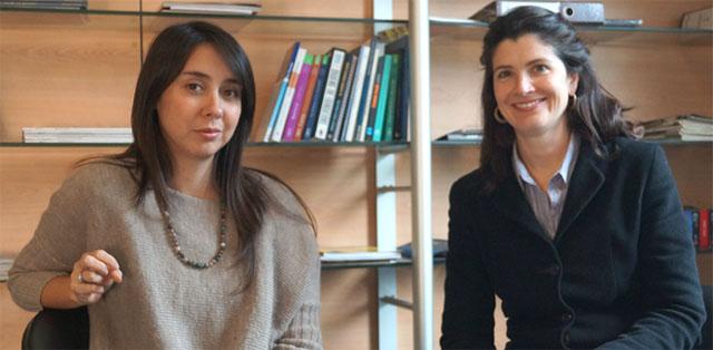 Las académicas Lyuba Yez y Angélica Bulnes