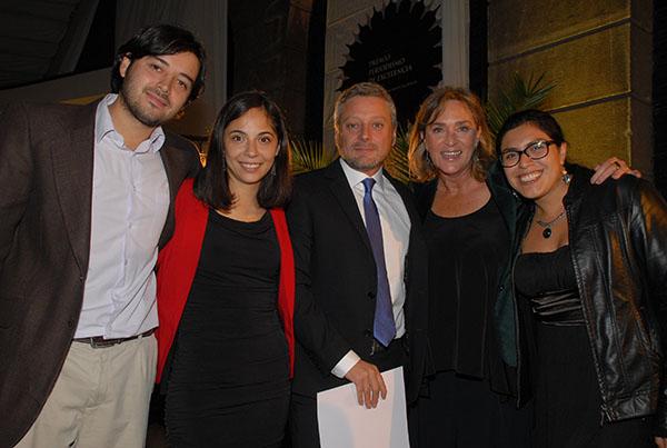 """Equipo de """"El Informante"""" de TVN."""